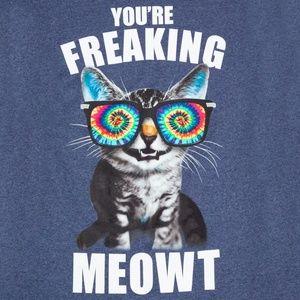 Tops - Funny Cat T Shirt